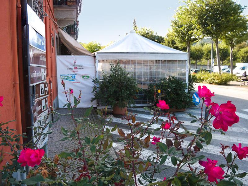 Pizzeria Ristorante I Due Mondi, Busca (CN) - Dehor estivo